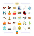 sports travel education and other web icon in vector image vector image