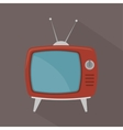 TV entertainment design vector image