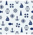 Maritime mood background vector image