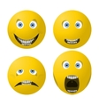 smile face vector image