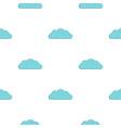 Autumn cloud pattern flat