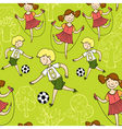 children sports vector image vector image