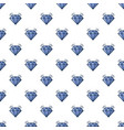 crystal pattern seamless vector image