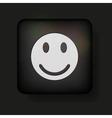 happy smilie vector image vector image