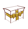 icon gift vector image vector image