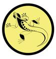 icon lizard vector image vector image