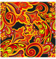 rich pattern vector image vector image