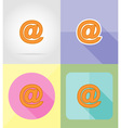 service flat icons 23 vector image vector image