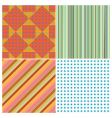 stripe collection vector image