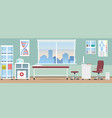 doctor office room vector image vector image