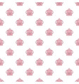 girl backpack pattern seamless vector image