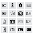 ice card icon set vector image
