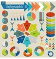 Infographics Elements Set For Business vector image vector image