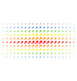 Male power pill spectral halftone pattern