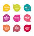 Modern design labels 3