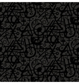 pattern with alchemy symbols vector image vector image