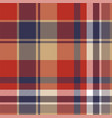 plaid textile tartan seamless pattern vector image vector image