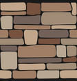stones texture seamless stone wall brick vector image vector image