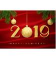 2019 happy new year happy new year vector image