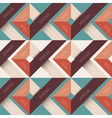 Abstract background with geometric shapes vector image vector image