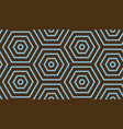 abstract geometric background blue and brown vector image