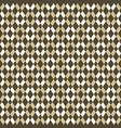 abstract seamless pattern of color rhombuses vector image vector image