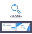 creative business card and logo template general vector image