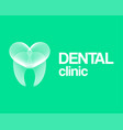 dental clinic vector image vector image