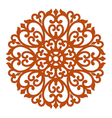 filigree ornament vector image vector image