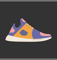 modern sneaker for everyday wear vector image vector image