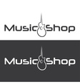 Music shop design template