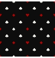 Poker seamless pattern vector image