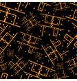 printed circuit board seamless pattern eps10 vector image