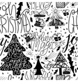 Seamless pattern for printing on gift packaging vector image vector image