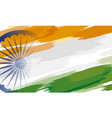 15th august india independence day background vector image vector image