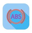 abs flat single icon