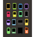 Cellphone collection vector | Price: 1 Credit (USD $1)