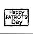 patriot day design vector image