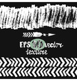 Seamless brush pen hand drawn doodle pattern vector image vector image