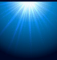 sparkling rays of light vector image