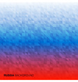 Abstract Background using Russia flag colors vector image vector image