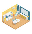 children room composition vector image vector image