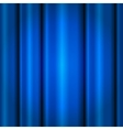 Close view of a blue curtain Seamless vector image