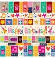 Happy Birthday 13 vector image vector image