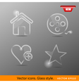 icons Class style vector image
