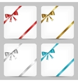 card with ribbon collection vector image
