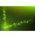 Green Circular Background vector image vector image