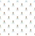 Sailor pattern cartoon style vector image