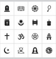 set of 16 editable dyne icons includes symbols vector image vector image