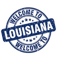 welcome to Louisiana vector image vector image